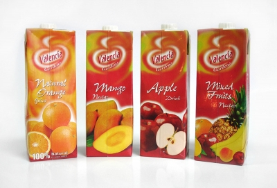 Valencia Gardens Juices packaging design by Creations