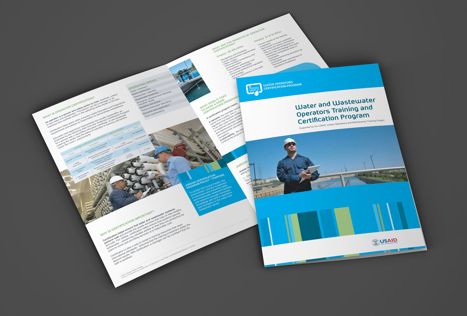 OMT Brochure and branding design by Creations