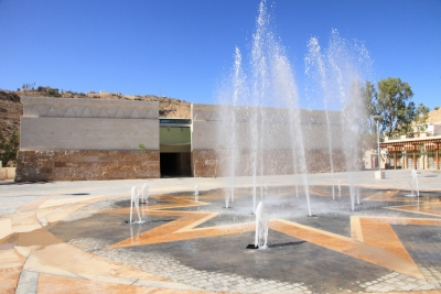 Petra Visitor Center museum exhibit design by Zaid Masannat