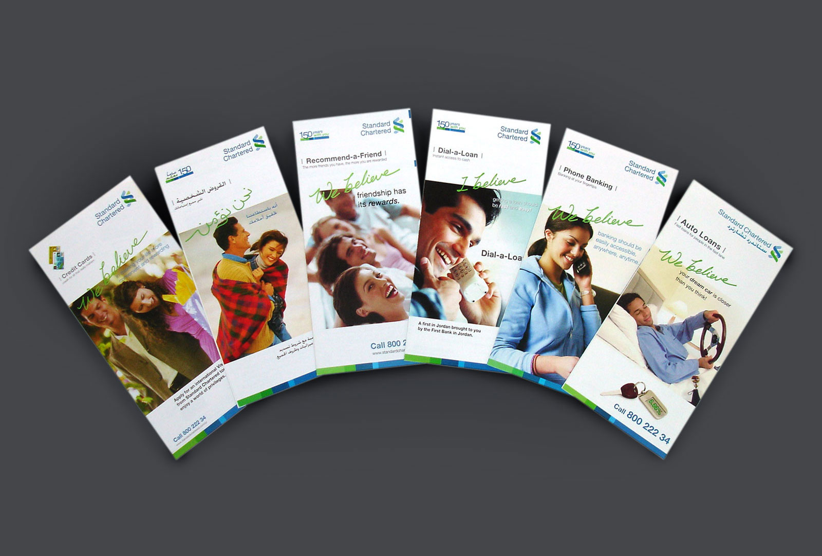 Standard Chartered-Bank Promotional Campaigns Flyers designed by Creations