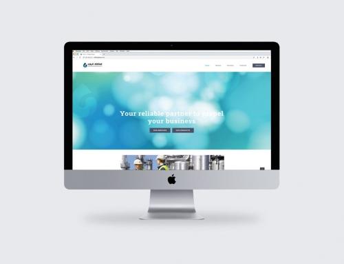 Albilad Gases Branding and Website Design