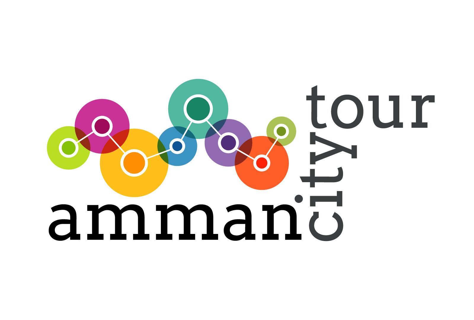 Amman City Tour branding design by Zaid Masannat - Main Logo
