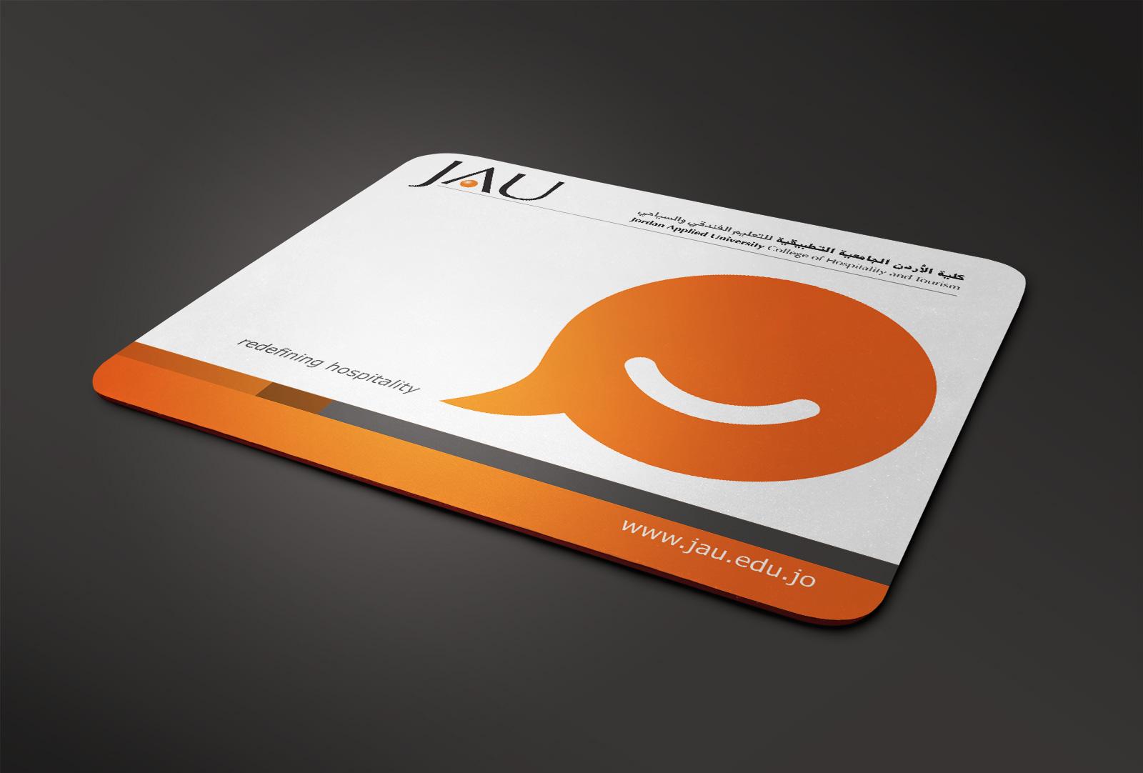 Mousepad design for JAU