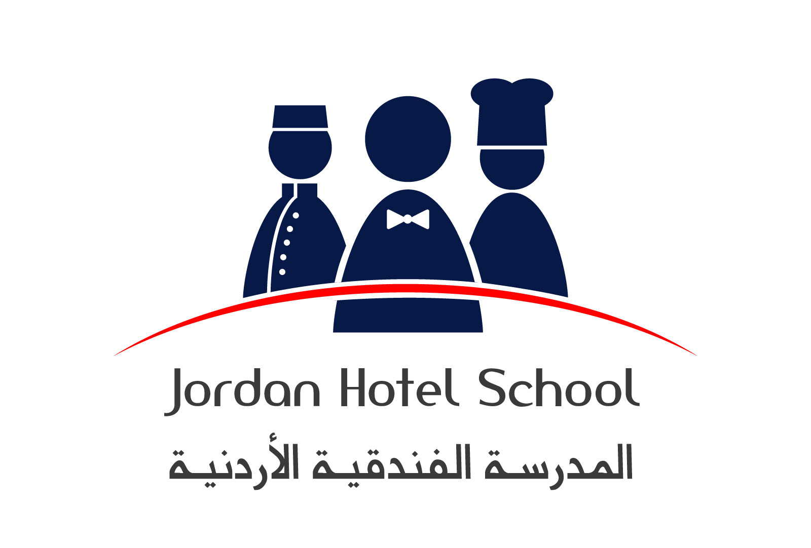 Jordan Hotel School Logo design by Creations.