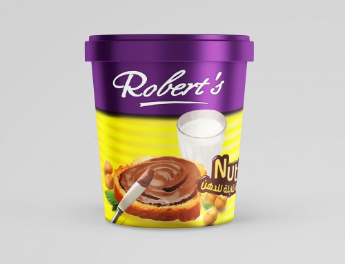 ROBERTS NUTTY CHOCOLATE PACK DESIGN