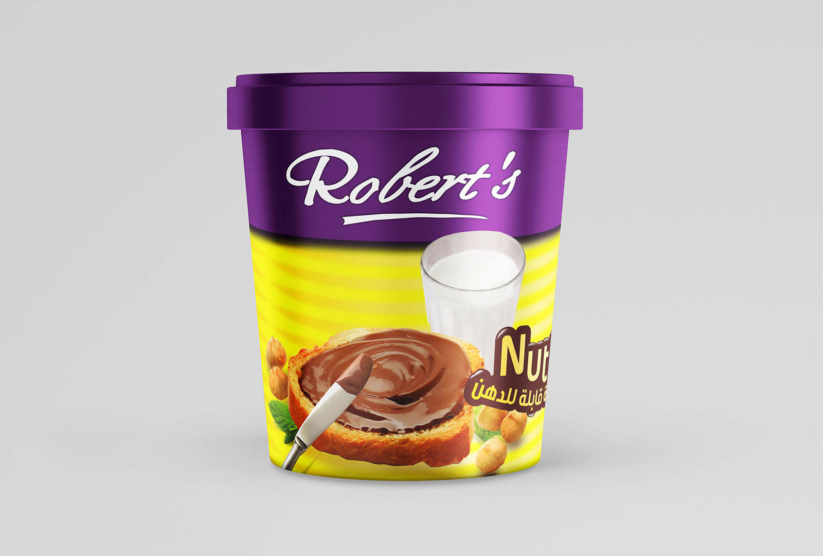 Roberts Nutty Chocolate Pack design by Creations