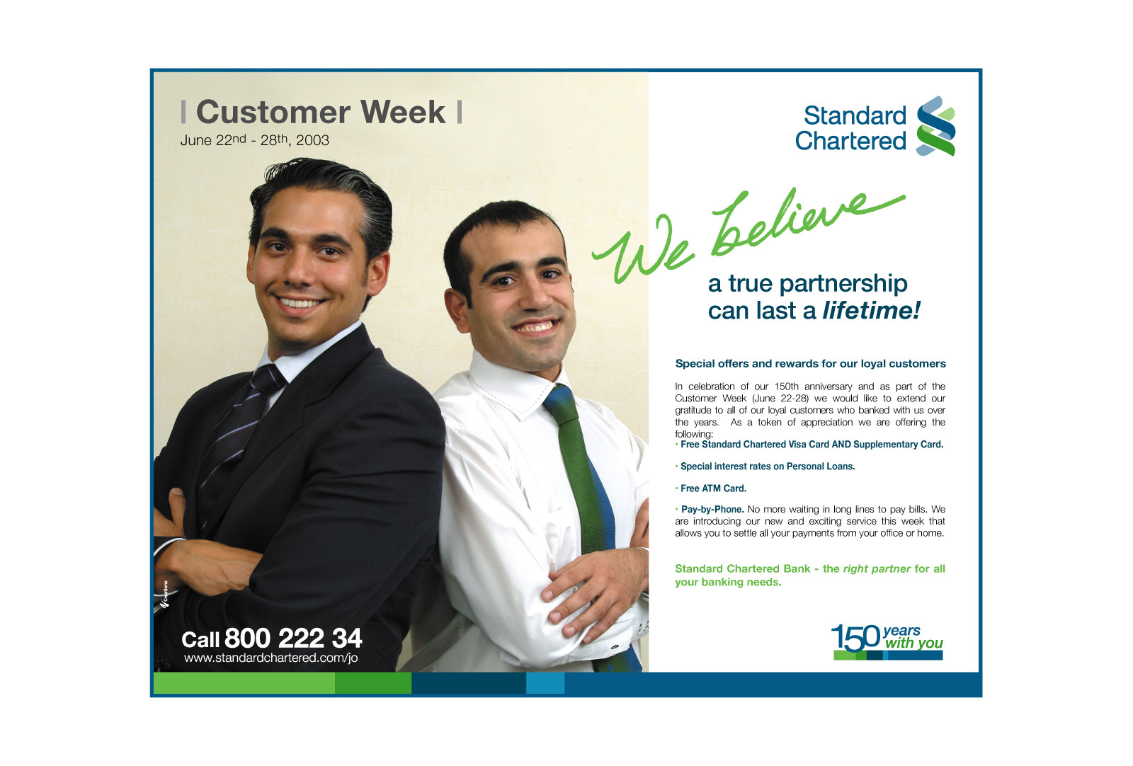 Standard Chartered Bank Ad Campaign Customer Week