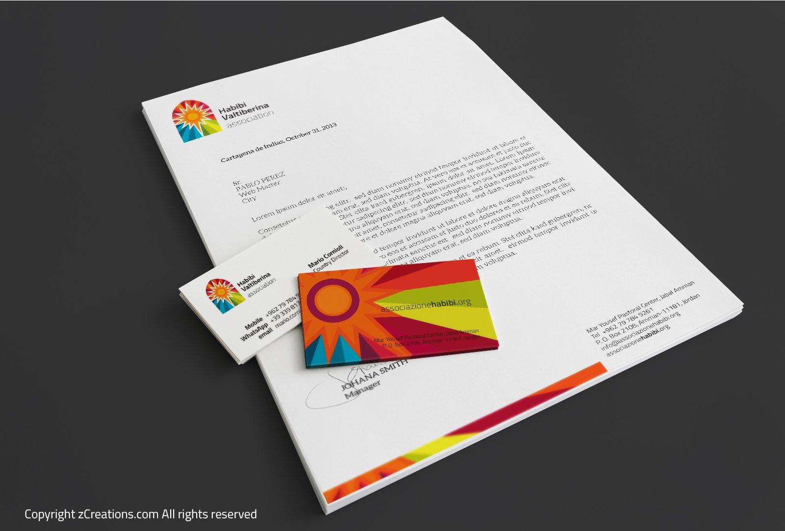Habibi Valtiberina Logo and branding design by zCreations
