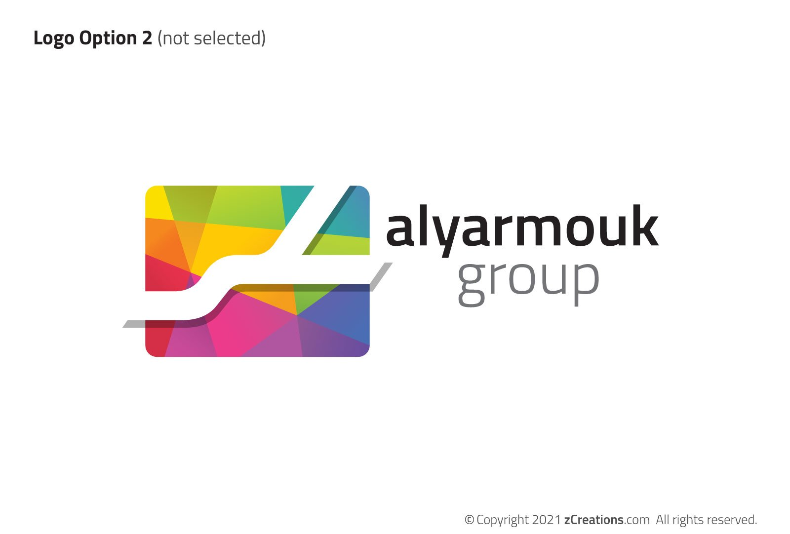 Alyarmouk Group Alternate Logo Design